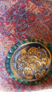 LEONARD Italian silk vintage TIE