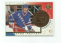 WAYNE GRETZKY (New York Rangers) 1997-98 PINNACLE MINT BRONZE CARD #18