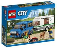 LEGO City 60117 - Camper con Roulotte -week end ►NEW◄ PERFECT NEVER REMOVED MISB