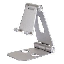? Handyhalterung Tisch Halter Stativ Tablet Halterung Smartphone Ständer silber
