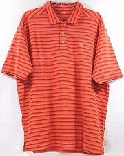 RARE SAMPLE NWT Tommy Bahama Topside Stripe Spectator-Fusion Polo Shirt Size L