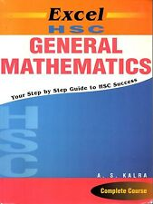 Excel HSC General Mathematics step-by-step guide to HSC success AS Kalra