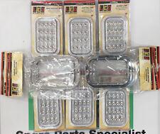 LED Autolamps 131 Series Kit 2x 131CAM 2x 131CRM 2x 131WM 6x Chrome Bezel ADR