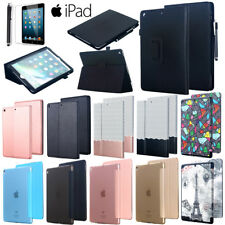 """Leather Flip Magnetic Smart Case Cover F New iPad 9.7"""" 2018 Pro 12.9"""" 10.5"""" 2017"""