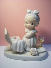 "Precious Moments Figurine-"" Precious Memories""- E-2828-1983"