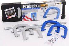 New St. Pierre Sports American Professional Forged Steel Horseshoe Game Set Iron