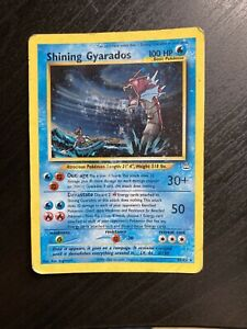 Shining Gyarados 65/64 Neo Revelation Holo Foil Rare Pokemon Card