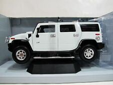 HUMMER H2 SUV WHITE 1/18 Scale by HIGHWAY 61 BRAND NEW IN BOX LAST ONE VERY RARE