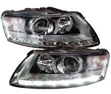 LED TAGFAHRLICHT Xenon Scheinwerfer AUDI A6 4F 04-08 für D2S links rechts SET