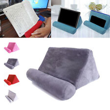 1 X Tablet Pillow Cushion Phone ipad Stand Holder Book Stand Support Foam Solid