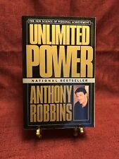Unlimited Power By Anthony Robbins, 1986 Vintage Paperback