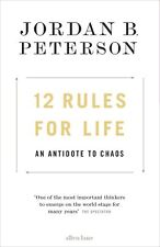 12 Rules for Life : An Antidote to Chaos by Jordan Peterson 2018 NEW
