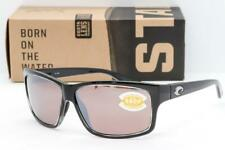 NEW COSTA DEL MAR CUT SUNGLASSES Squall Black/ Silver Mirror 580P Polarized