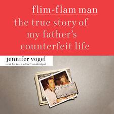 Flim-Flam Man by Jennifer Vogel 2014 Unabridged CD 9781482986822