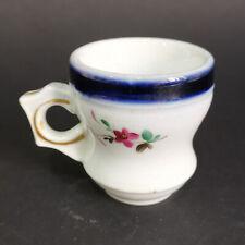 Tasse à brûlot en porcelaine de Bayeux