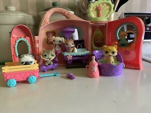 Littlest Pet Shop Get Better Center Pink House