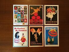 BEVERAGE / DRINKS THEME VINTAGE SET OF 20 POSTCARDS - COLLECTORS EDITION SET