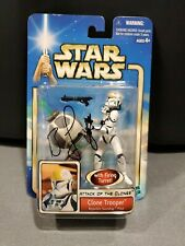 🔥NEW/SIGNED by Bodie Taylor Star Wars AOTC Clone Trooper Republic Gunship Pilot