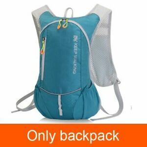 8L Water Bag Trail Hydration Waterproof Bicycle Foldable Bladder Backpack Camp
