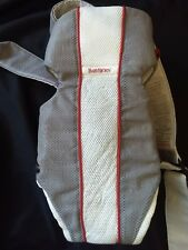 BABY BJORN Baby Carrier Air-  Hardly used! Snuggly with owners manual