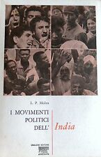 LAXMAN PRASAD MISHRA I MOVIMENTI POLITICI DELL'INDIA UBALDINI ASTROLABIO 1971