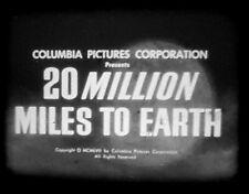 Super 8mm sound film '20 Million Miles to Earth'