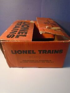 LIONEL POSTWAR X640 TRAIN OUTFIT SET BOX .. BOX ONLY