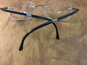 SILHOUETTE 7633 6052 19 145 Rimless Eyeglass Frame Austria