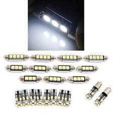 Universal DC12V 21pcs weiße Innen-LED-Licht-Kit für Dome Light Door Reading Lamp