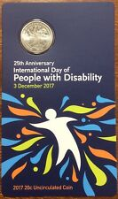 2017 20 cent 25th anniversary international day of people with disability RAM
