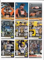 2009 Press Pass HOLOFOIL NUMBERED PARALLEL #188 Jimmie Johnson BV$7.50 #055/100