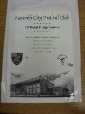 24/09/1993 Norwich City Reserves v Bristol City Reserves  (Four Pages). Thank yo