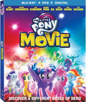 My Little Pony: The Movie [New Blu-ray] With DVD, Widescreen, 2 Pack, Ac-3/Dol