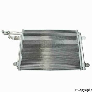 One New Nissens A/C Condenser 94684 for Audi for Volkswagen VW