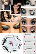 6 in 1 Eyeliner Stencil + Eyebrow Guide Card Makeup Tool Set Cat Eye Liner USA