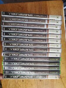 Tom Clancy's Splinter Cell (Microsoft Xbox, 2002) works for softm0d