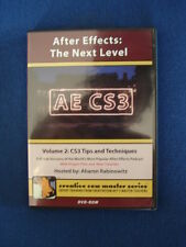 After Effects : the next level, AE CS3 – DVD ROM formation