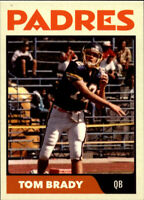Rare Tom Brady 1994 High School Card Michigan Pre Rookie New England