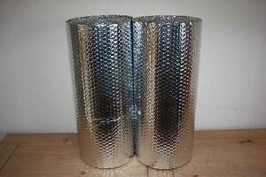 Double Foil Bubble Insulation, floor wall caravan shed loft 10m2 Free UK P&P