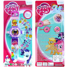 NEW MY LITTLE PONY ELECTRONIC DIGITAL DISPLAY WRIST WATCH PROJECTOR KIDS TOY
