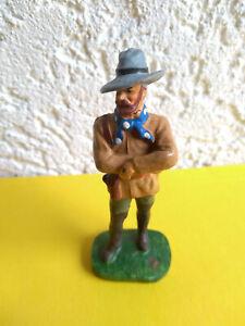 "Elastolin Germany Masse ""Old Shatterhand"" Cowboy Indianer sehr schöne Farben"