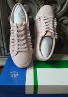 Tory Burch / Tory Sport Leather RUFFLE SNEAKER Pink - Various Sizes (New In Box)