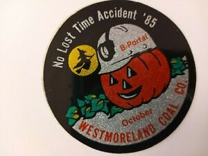 OLD 1980'S VERY RARE WESTMORELAND COAL COMPANY COAL MINING STICKER DECAL