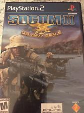 PS2 Socom 2 U.S. Navy SEALs