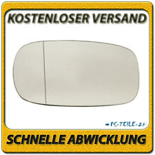 Spiegelglas für NISSAN MICRA II K11 1992-2003 links Fahrerseite asphärisch