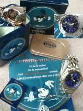 NWT DISNEY FOSSIL MICKEY AND COMPANY LI-1628 DIVE MICKEY MOUSE WATCH-#141/1000