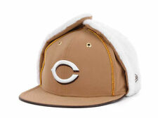 Cincinnati Reds New Era 59FIFTY MLB Men's Dog Ear Winter Cap Hat - Size: 7 1/8