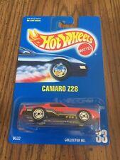 1991 Hot Wheels Camaro Z28 No 33