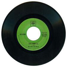 Philippines SANTANA Oye Como Va 45 rpm Record