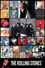 Rolling Stones Discography Large New Maxi Poster 61cmx 91.5cm lp1675 530